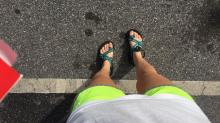 A teen wearing Chacos and Norts got kicked out of class