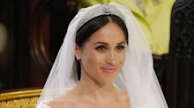Meghan Markle's wedding look took 45 minutes