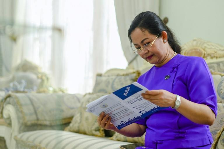Running in under a third of constituencies, Thet Thet Khine says she would be happy to clinch five percent of seats, admitting this is a dry run for the 2025 election when Suu Kyi will be 80