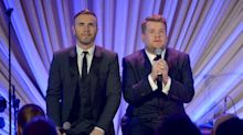 Gary Barlow duetting with James Corden on new solo album