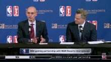 NBA holds all the cards in sports betting deal with MGM