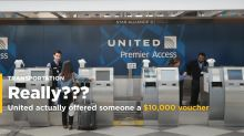 United actually offered someone a $10,000 voucher for giving up her seat - here's a step-by-step guide of what she did (UAL)