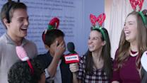 Disney Stars & Celebs Take The Santa Squad Challenge At Radio Disney's Family