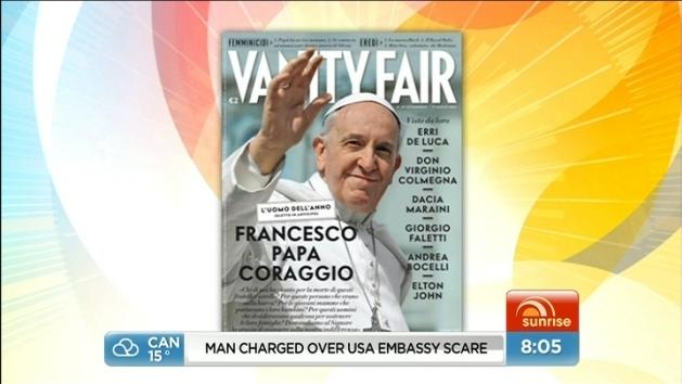 Pope named Man of the Year