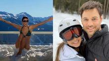 De biquíni na neve à aulas de ski: Melhores momentos da viagem de Paula Fernandes