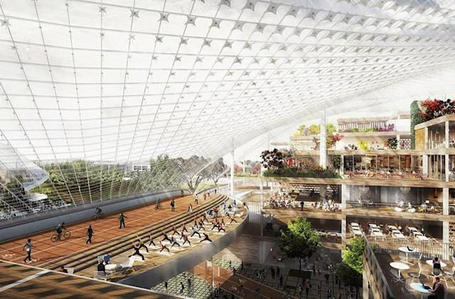 Google will use robot-crane hybrids to build new Mountain View HQ