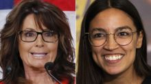 Sarah Palin's Attempt To Mock Alexandria Ocasio-Cortez's 'Fumble' Backfires On Twitter