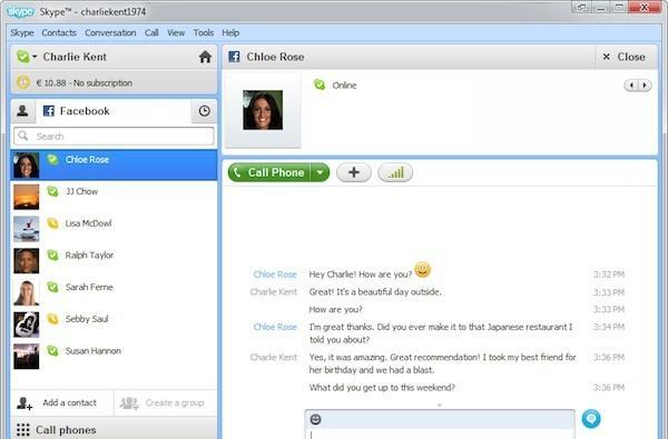 Skype 5.5 for Windows now available, complete with deeper Facebook integration