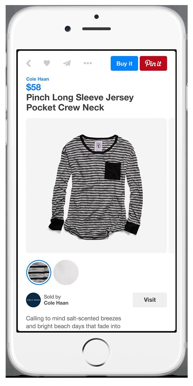 Shop from your Pinterest board with Buyable Pins   Engadget