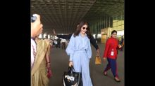 Anushka Sharma Gives Us Vacay Vibes With This Easy Breezy Airport Outfit