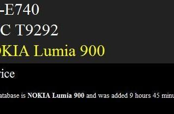 Nokia Lumia 900 teases us once again, makes an appearance on benchmark records
