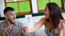 Couple celebrate $4.8 million lotto win with Aussie tradition