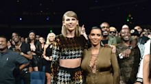 The internet calls out Kim Kardashian in a big way for trolling Taylor Swift