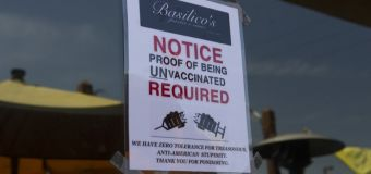 Restaurant only welcomes unvaccinated diners