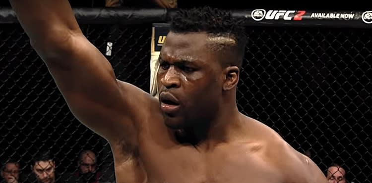 Francis Ngannou doesn't care who wins at UFC 241, he simply wants what he's earned