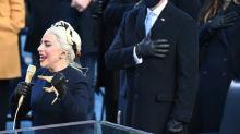 Lady Gaga singt bei Bidens Amtseinführung die Nationalhymne