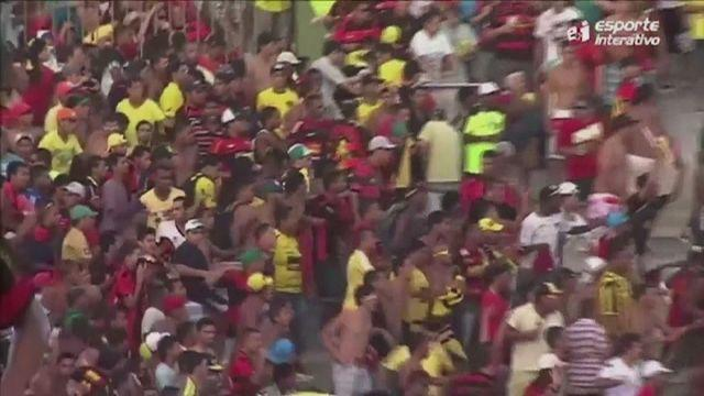 Violence at football match in Brazil