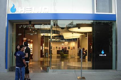 Helio's first dedicated store opens its doors