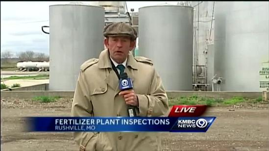 Fertilizer manufacturing plants miss outside inspection