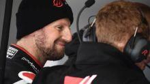 F1 - GP de l'Eifel - Romain Grosjean (Haas) : « Je ne suis plus dernier au classement des pilotes»