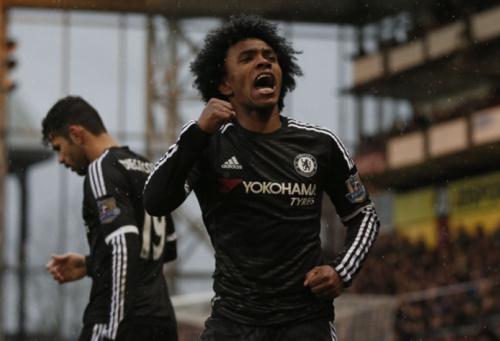 Willian celebra segundo título inglês pelo Chelsea: 'Um sonho realizado'
