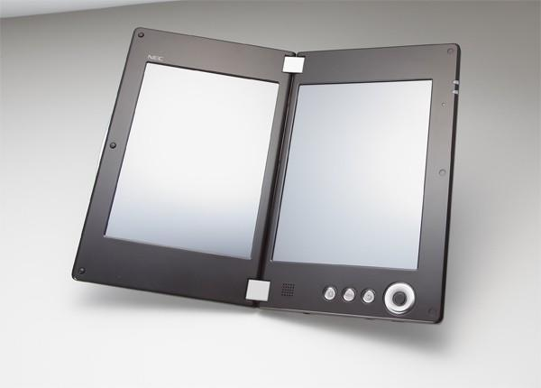 NEC gets official with dual-screen 7-inch LT-W Cloud Communicator
