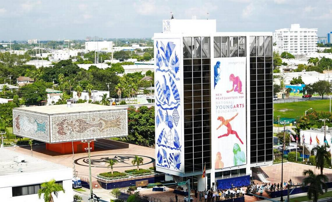 She was fired after reporting boss' misspending at Miami's YoungArts, suit claims.