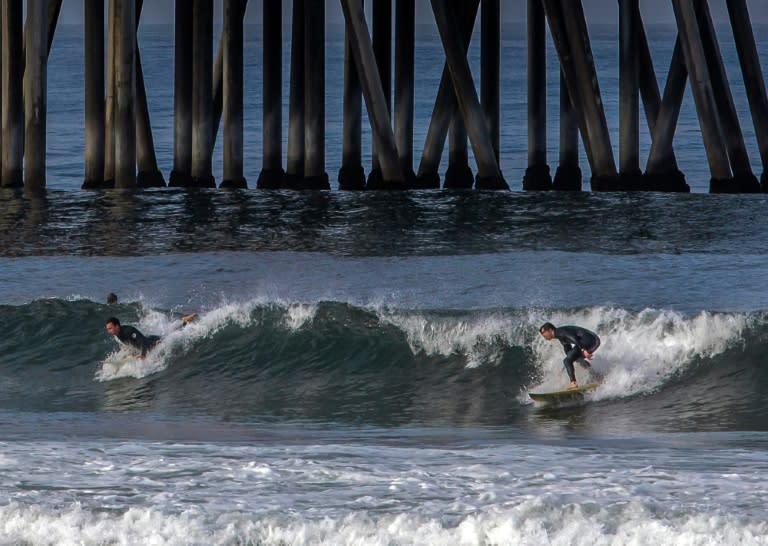 California Closes Huntington Beach