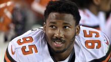 No. 1 pick Myles Garrett to make debut for Browns after sprained ankle