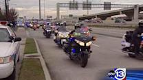 Funeral held for slain Bellaire PD Sgt. Jimmie Norman