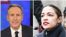 Alexandria Ocasio-Cortez Pushes Back At Howard Schultz After He Scorns Her Tax Plan