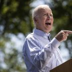 Joe Biden holds kickoff campaign rally in Philadelphia