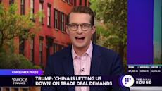 'China is letting us down' on trade deal promises, says President Trump