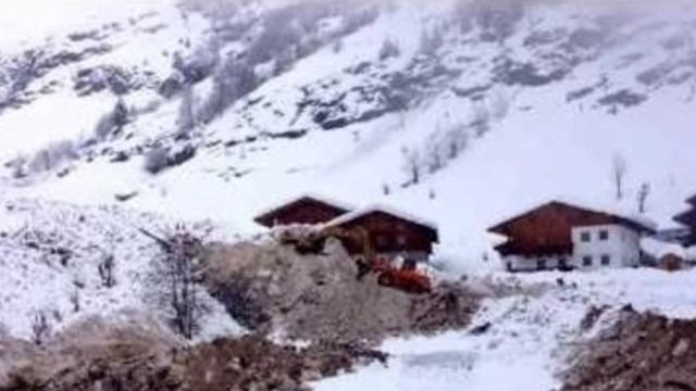 Cleanup Underway Following Avalanche in Northern Italy