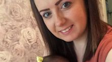 Mum and baby have matching heart-shaped birthmarks