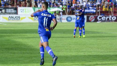 Alisson divide méritos de gol pelo Cruzeiro com Rafael Sóbis