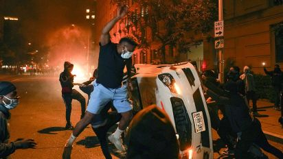 Downtown D.C. burns after another night of protests