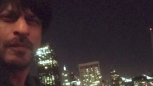 SRK is enjoying a cool, spring night in San Francisco but guess who he is missing?