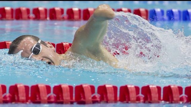 Paralympic Swimming Medalist Continues to Strive for Gold