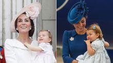 Royal kombiniert: Herzogin Kate und Prinzessin Charlotte tragen immer passende Outfits