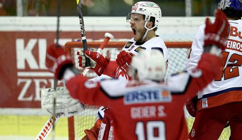 Eishockey: KAC eliminiert Red Bull Salzburg im Halbfinale