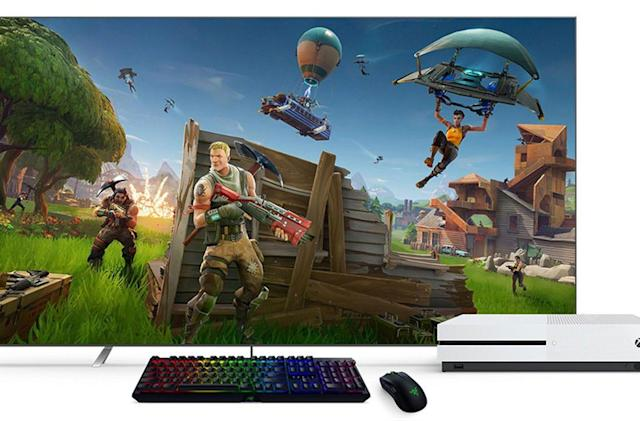 Xbox One mouse and keyboard support is available now