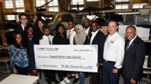 The New Terminal One Team Helps Launch Queens High School Students Into Aviation Careers As The JFK Redevelopment Program Community Initiative Gains Altitude