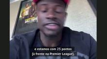 """FUTEBOL: Premier League: Sadio Mané: """"Que a temporada não seja anulada  e o Liverpool se torne campeão"""""""