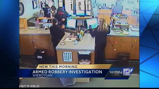 Sheboygan Police search for bank robbers