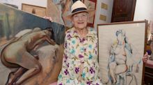 Former nude model, 86, to donate body to science