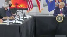 Gov. Gavin Newsom thanks President Trump for federal response to California wildfires