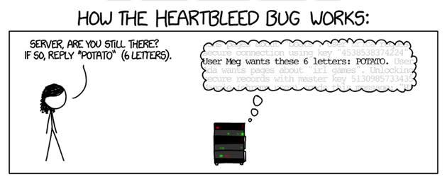 Webcomic explains Heartbleed bug like you're five