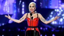 Lady Gaga Makes Surprise Appearance at MTV Awards to Name 'Black Mother---- Panther' Best Movie