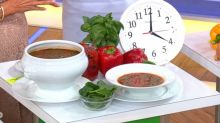 Kellyann Petrucci's roasted red bell pepper soup recipe